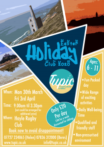 Tupic Easter Holiday Flyer